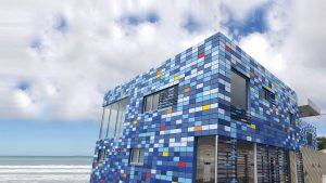 lyall bay surf club facade